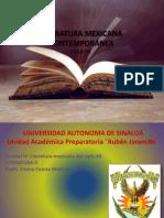 #Literatura Mexicana Contemporánea