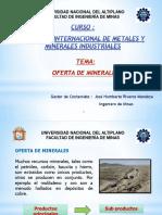 4. Oferta de Minerales