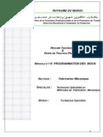 M13Programmation Reglage Et Conduite Des MOCN Version 1