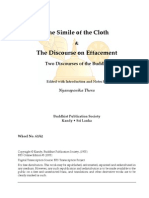 The Simile of the Cloth & The Discourse on Effacement