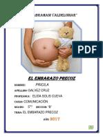 Embarazo Precoz Terminado