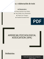 American Psychological Association (APA)-1