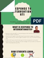 response to intervention-ppt lead teacher plc
