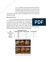 Estudo de Campo - Desenvolvimento Embalagens
