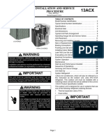 Service Manual Lennox