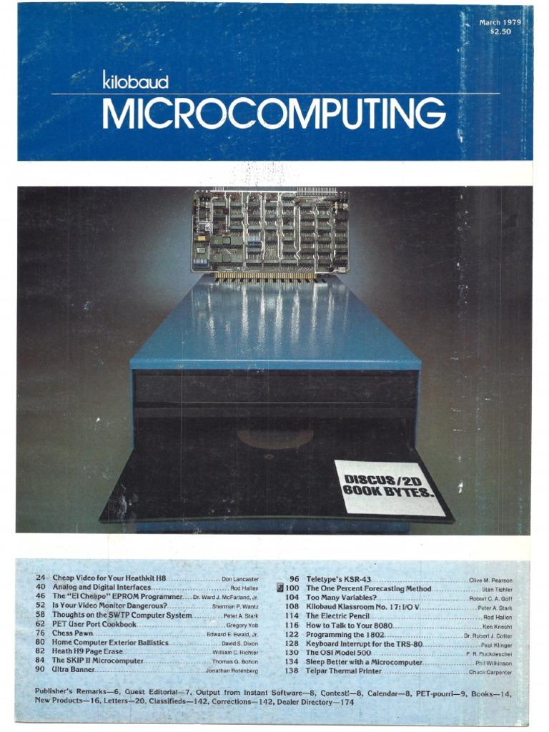 Kilobaud 1979-03 | Floppy Disk | Dos