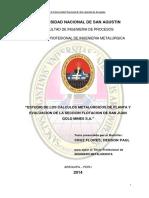 CAlculos metalurgicos de planta de flotacion SAN JUAN.pdf