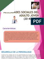 Necesidades Sociales Del Adulto Joven