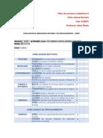 Evaluacion de Habilidades Motoras y de Procesamiento