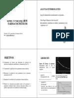 Adme y Parámetros Farmacocinéticos