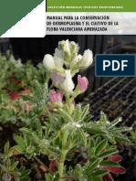 Manual Conservacion Germoplasma y Cultivo Cv 2013