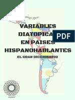 Diccionario Variables Diatopicas