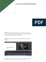 [Tutorial] Poner Subtitulos Con Camtasia Studio 7 - Hazlo Tu Mismo - Taringa!