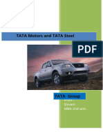 18221607 TATA Motors and TATA Steel