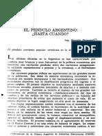 Marcelo Diamand El Pendulo de La Economia Argentina.pd