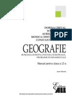 Manual Geografie Clasa 12