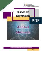 5.1 Manual Aptitud Abstracta