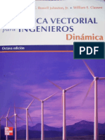 Mecanica Vectorial Para Ingenieros- Dinamica 8Ed Beer & Johnston
