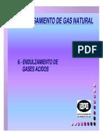 Procesamiento de Gas Natural Endulzamiento