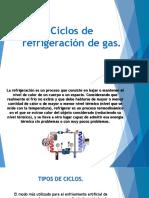 Ciclos de Refrigeración de Gas