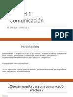 Unidad 1 Comunicación