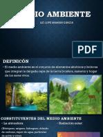 Tema 8 Medio Ambiente