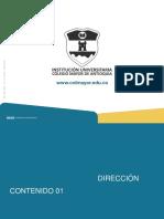 V.5 2018- Unidad 4 Dirección