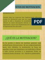 Fundamentos de Motivacion - Presentacion