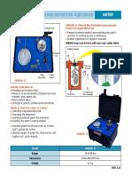 Especificaciones Tecnicas Medicion Agua Potencial