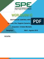 Quiebra Empresa Worldcom Grupo #14