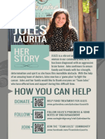 A flyer for Julietta Laurita
