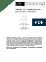 GestãoAmbientalSuaContribuiçãoDesenvolvimentoSustentável