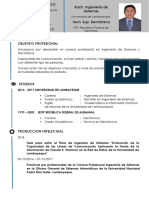 Curriculum Vitae EDWARD FELIX