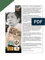 Martial Law Photo Exhibit DLS CSB 092010