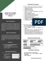 Curriculum Keny Ruiz