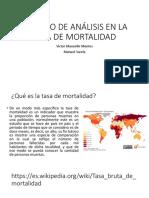MÉTODO DE ANÁLISIS EN LA TASA DE MORTALIDAD.pptx