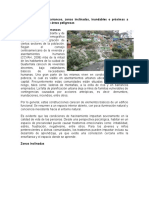 Asentamientos en Barrancos y Zonas Inclinadas