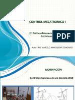 2.1 Sistemas Mecanicos Electricos y Electronicos