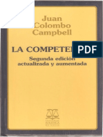La Competencia Juan Colombo Campbell PDF