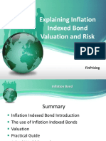Explaining Inflation Indexed Bond Valuation and Risk