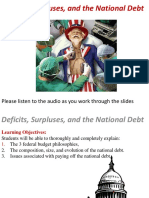 5P Budget Deficits and  National Debt.pptx