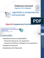 Clase_20 arquitectura de von newman.pdf