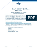 2018IATAlithium Battery Shipping Guidelines