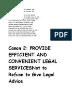 Legal Ethics Cases 2018