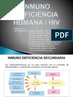 Inmunodeficiencia Secundaria - VIH