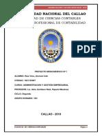 Administracion y Gestion Empresarial