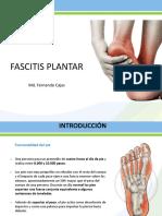 Fascitis Plantar Xavier