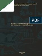 Normas Para Elaboração de Trabalhos Acadêmicos UTFPR.pdf