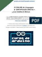 ✔CURSO ONLINE de Linguagem Arduino ➧ CERTIFICADO GRÁTIS + Dicas Inéditas & Bônus