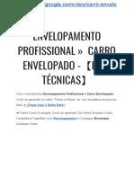 Envelopamento Profissional »  Carro Envelopado -【EM 2 TÉCNICAS INFALÍVEIS】